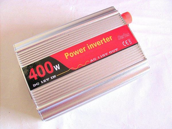 Inversor 400w Conversor Entrada 12v Saida 110v