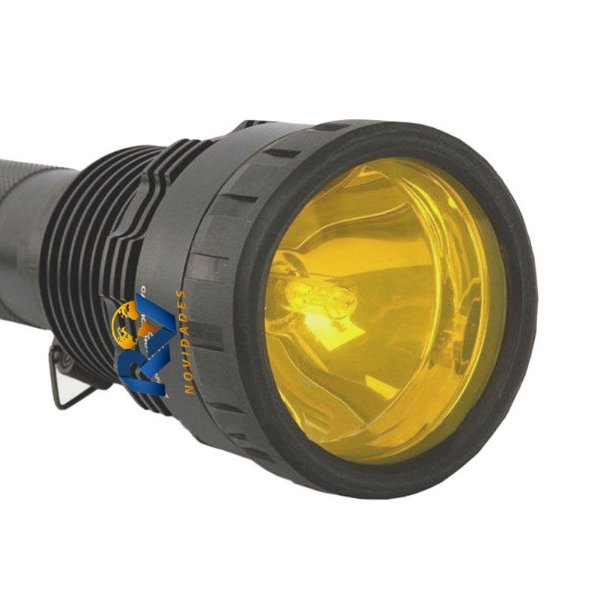 Lanterna Tática HID Xenon 85 Watts 8500 lúmens alcance + 2 Km novo modelo