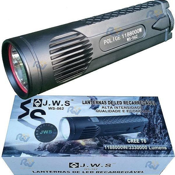 Lanterna led T6 recarregável super  forte ws 562