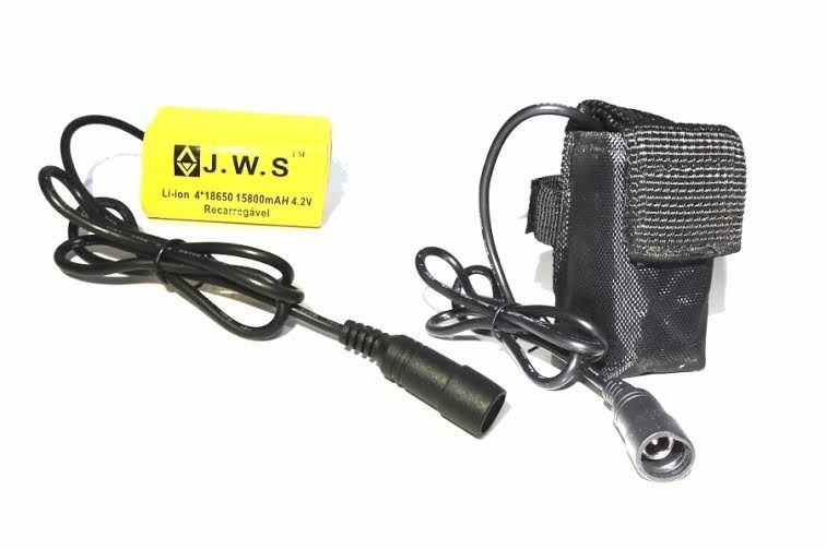 Bateria para Farol De Bike Bicicleta Lanterna 4.2v