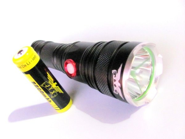 Lanterna  recarregável led  Mais Forte X900