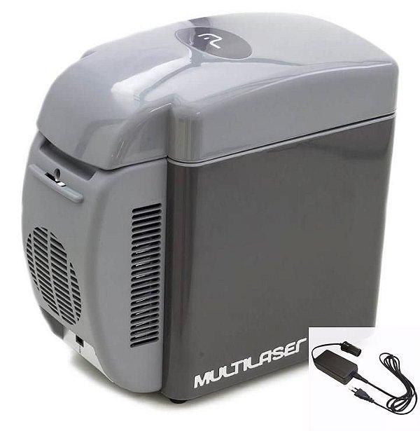 Mini Geladeira Multilaser Portátil Frigobar 7L carro /casa