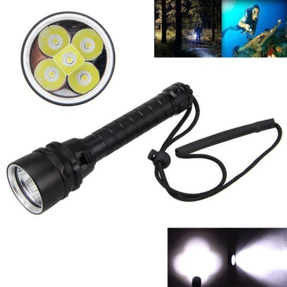 lanterna para mergulho recarregável led