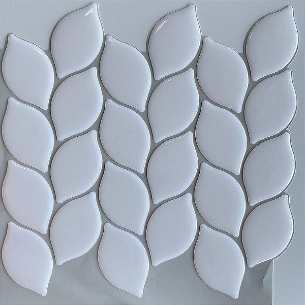 Pastilha Adesiva Resinada - Leaf White