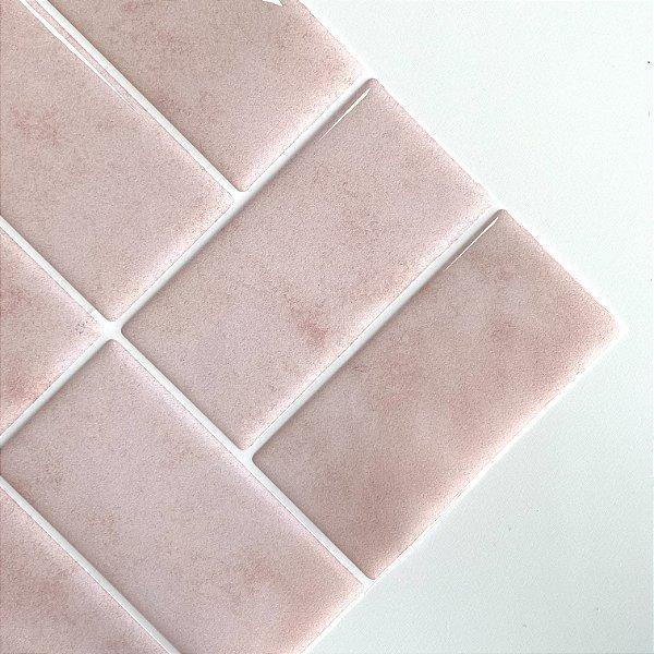 Azulejo Metrô Concept Pink Concrete