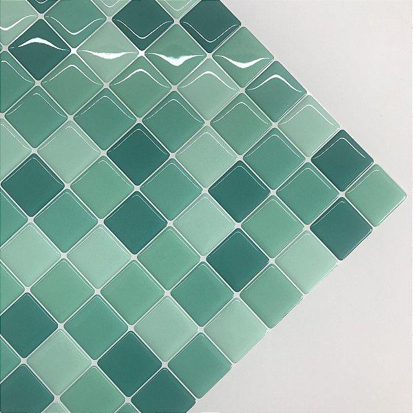 Pastilha Adesiva Resinada TIFFANY 28 x 28 cm