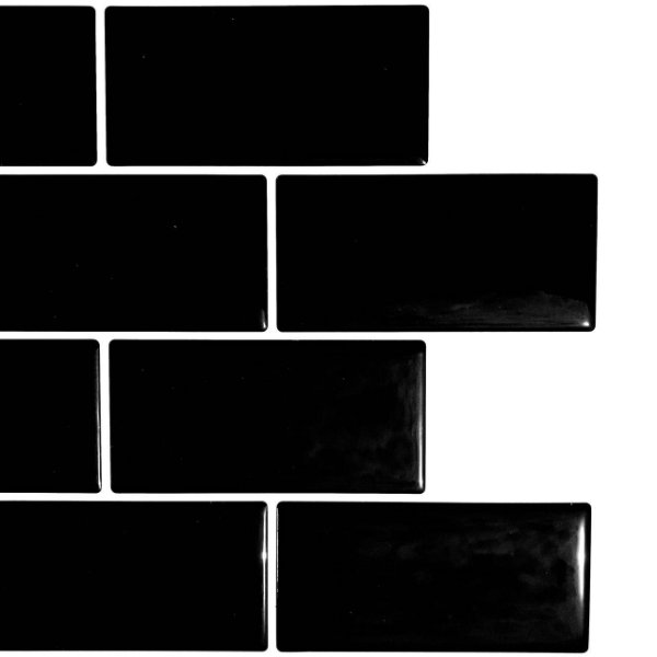 Azulejo Metrô Black
