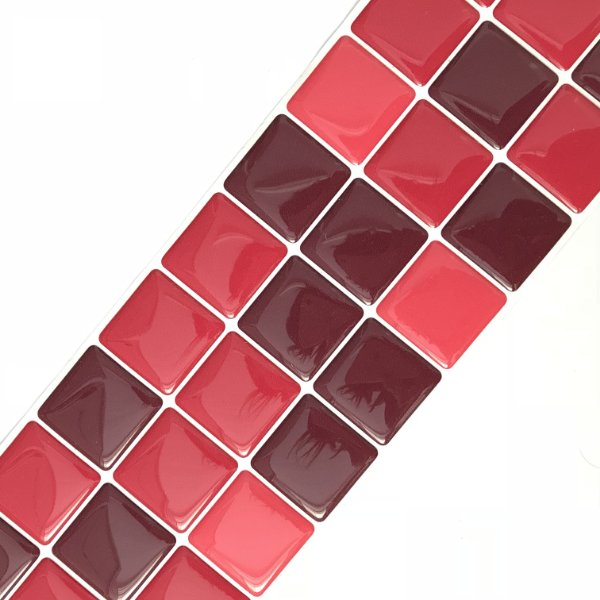 Pastilha Adesiva Resinada LICOR DE CEREJA 28 x 9 cm