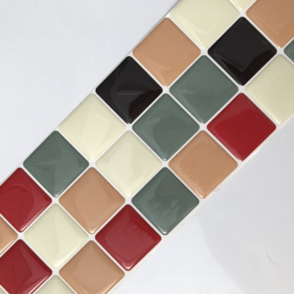 Pastilha Adesiva Resinada VINTAGE SHOP 28 x 9 cm