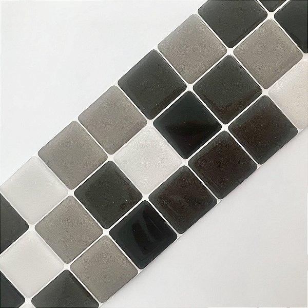 Pastilha Adesiva Resinada Black List 28 x 9 cm