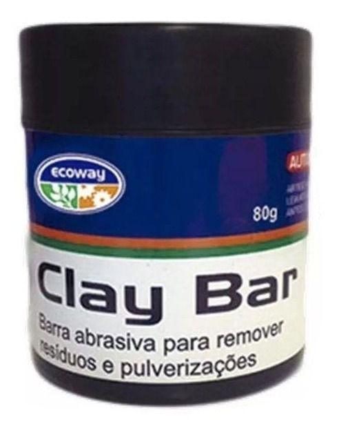 Clay Bar Barra Abrasiva Para Descontaminação Automotiva