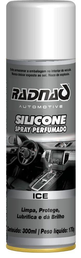 Silicone Spray Perfumado Ice Radnaq 300ml