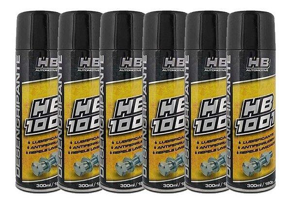 Óleo Desengripante Hb 1001 Lubrificante 300 Ml-kit Com 6 Und