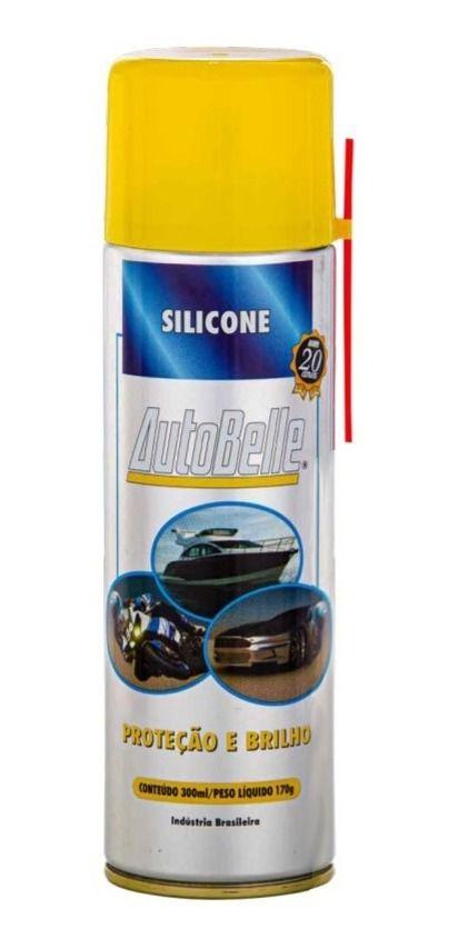 Silicone Spray 300ml Auto Belle- Lancha Carro Avião