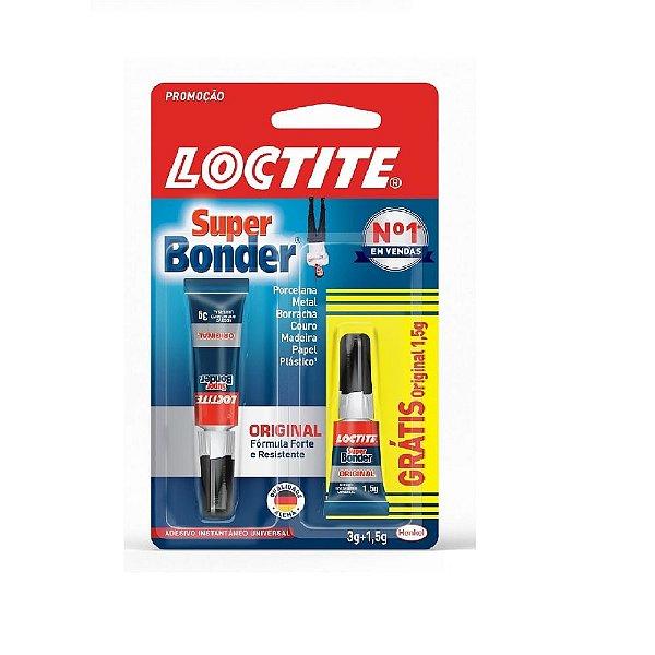Cola Super Bonder Loctite 3G + 1,5G