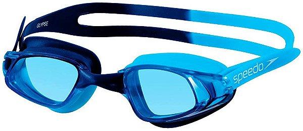 Óculos de Natação Speedo Glypse Proteção UV - Único - AZUL