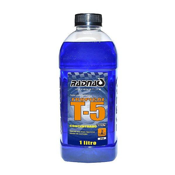Fluído para Radiador RADNAQ Tropical Azul T-5 1 Litro