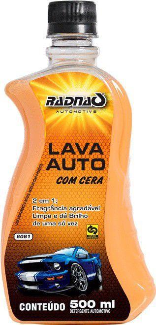 Lava Auto com Cera 500ml Radnaq
