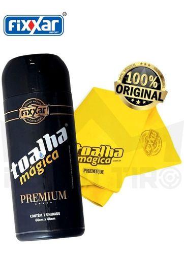 Toalha Mágica Fixxar Premium 66 X 46 Cm Amarela
