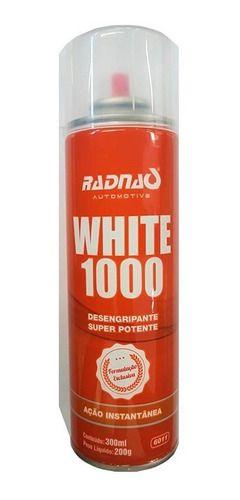 Desengripante Antiferrugem Spray White 1000 300ml