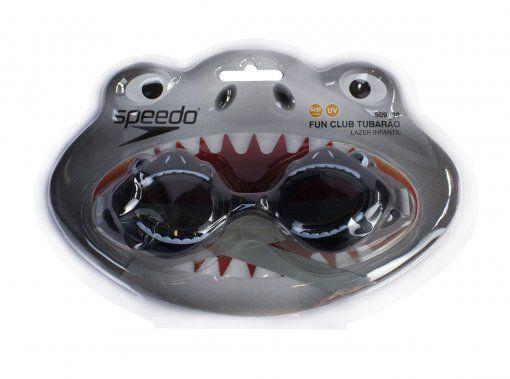Óculos de Natação Infantil Speedo Fun Club - Chumbo