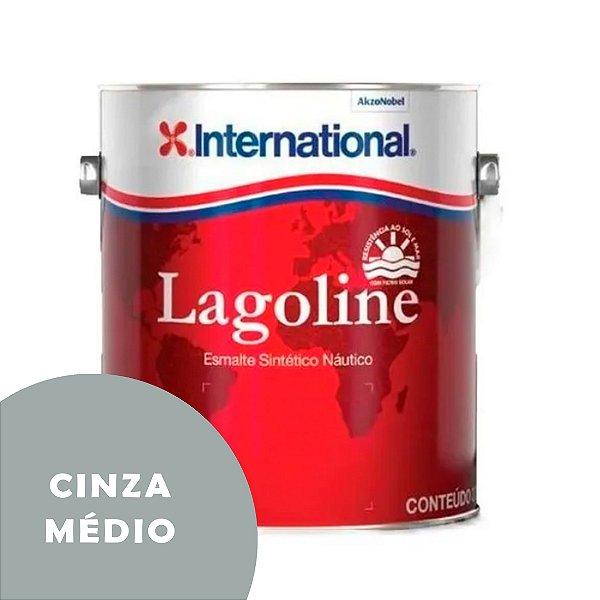Tinta P/ Barco Esmalte Sintético Náutico Lagoline 3,6 Litros - CINZA MÉDIO