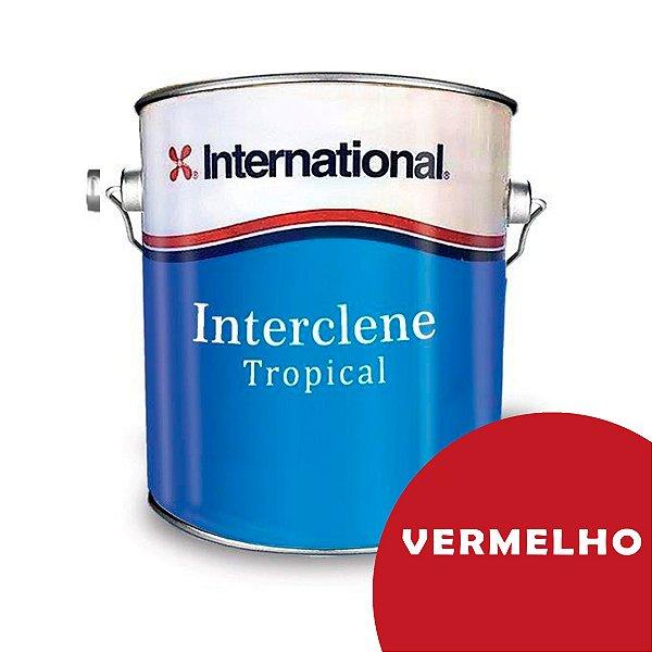 Interclene Tinta Antiincrustante 3,6l International Vermelho