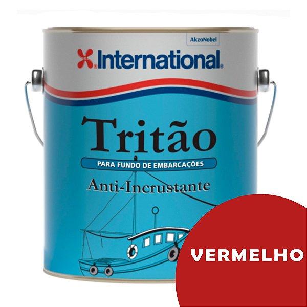 Tritão Antiincrustante International 3,6L - VERMELHO