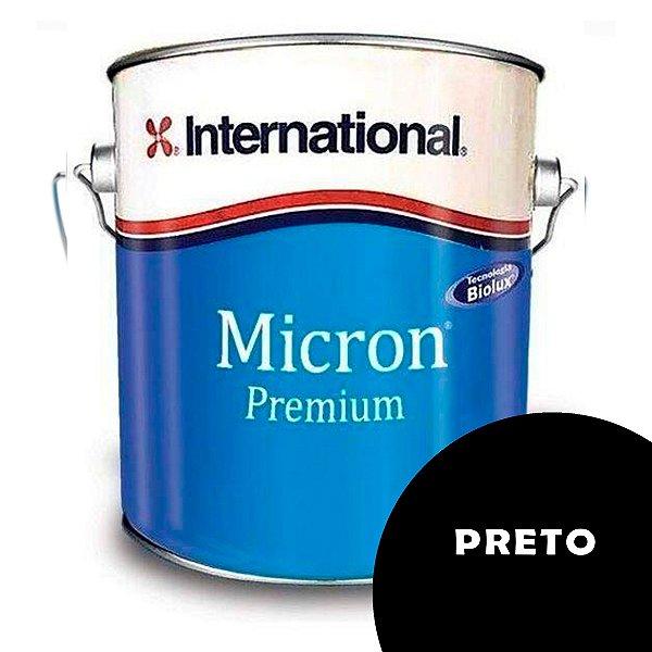 Tinta Micron Premium International 3,6L - PRETO