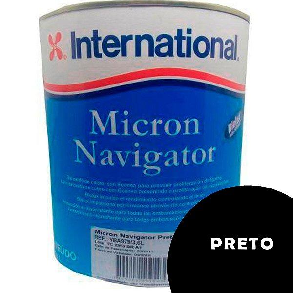 Tinta Micron Navigator International 3,6L - PRETO
