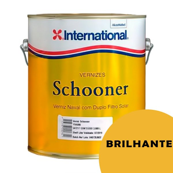 Verniz Schooner Naval International BRILHANTE 3,6l