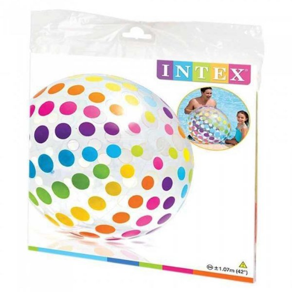 Bola Gigante inflável Intex Jumbo 107 cm de diâmetro