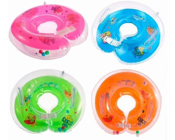Boia De Pescoço Inflável Para Bebês