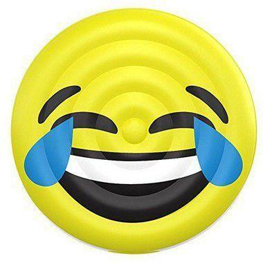 Boia Emoji Inflável - Risos