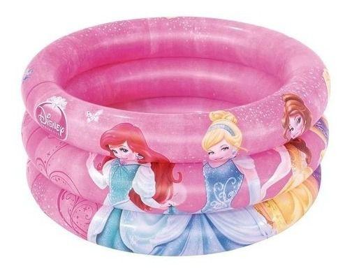 Banheira Inflável Infantil Princesas Disney 38 Litros - Mor