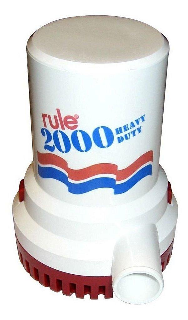 Bomba De Porão 2000 Gph Rule 12v  - Rule