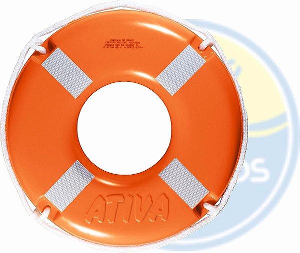 Kit 4 Boias Circular Classe Ii - 50cm - Ativa Barco Lancha