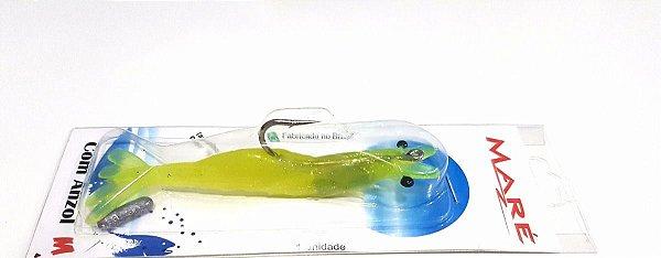 Isca De Camarão Articulado Flexível - Cor Limão