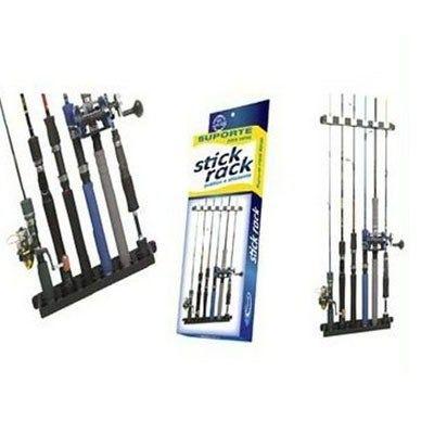 Suporte (expositor) De Parede P/ Varas De Pesca-stick Rack