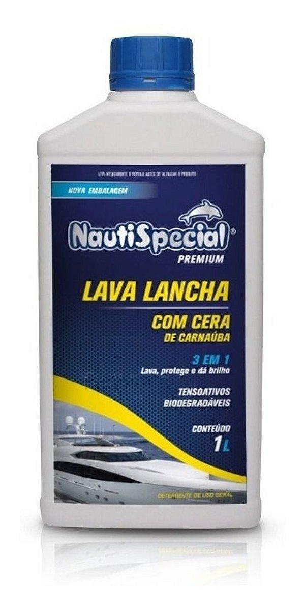 Lava Lancha Com Cera De Carnaúba Nautispecial - 1 L