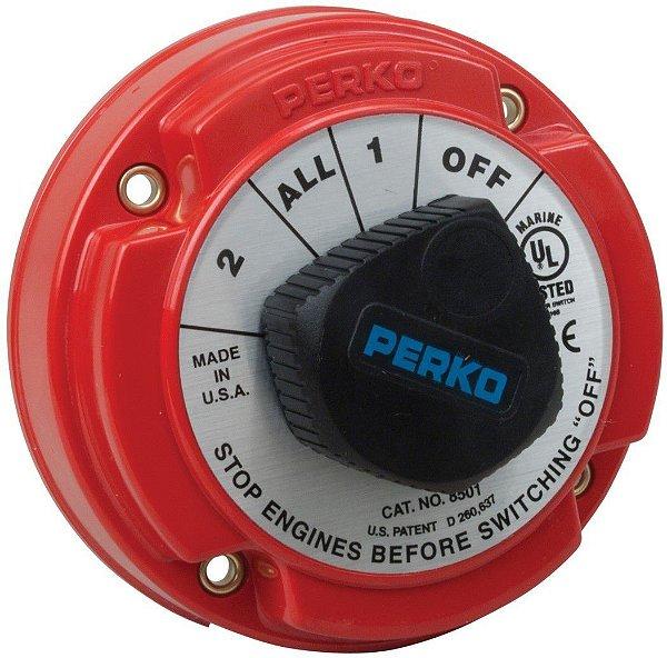 Chave Geral Perko P/2 Baterias Até 360 Amperes