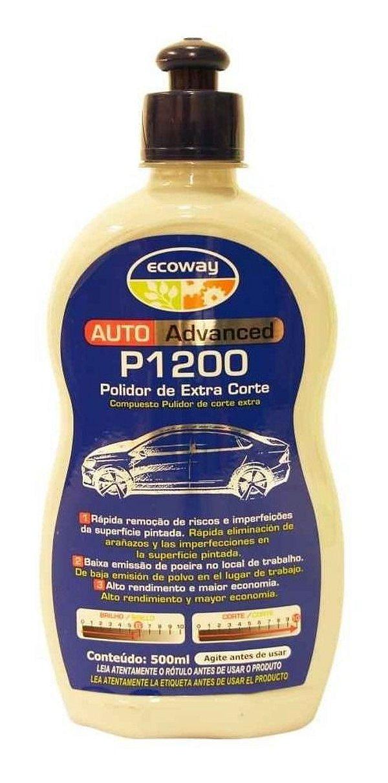 Composto Para Polimento Extra Corte Auto-advanced - Ecoway