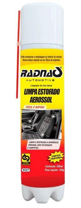 Limpa Estofado E Carpete Aerosol Para Veículos - Radnaq
