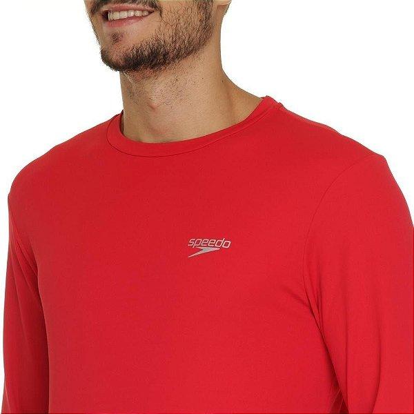 Camiseta Manga Longa Speedo Uv Protection