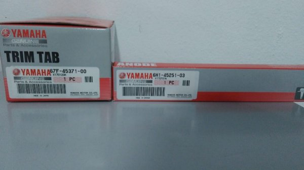 Kit 1x Anodo 67f-45371-00 + 1x Anodo 6h1-45251-03