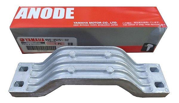 Anodo Cavalete Motor Yamaha F150 Hp/f200 Hp/f300hp 4t - 6G5-45251-02