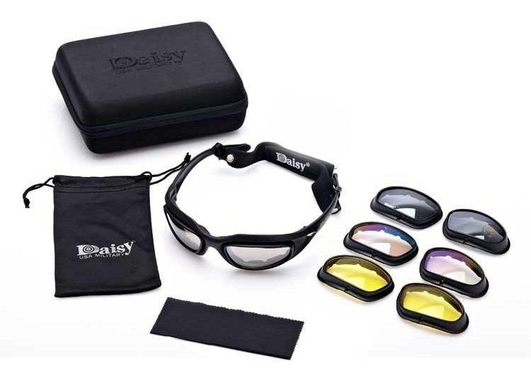 Óculos De Sol Ciclismo Troca Lentes Proteção Uv - Polarizado