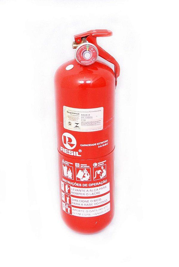 Extintor 2kg Resil - Pó químico