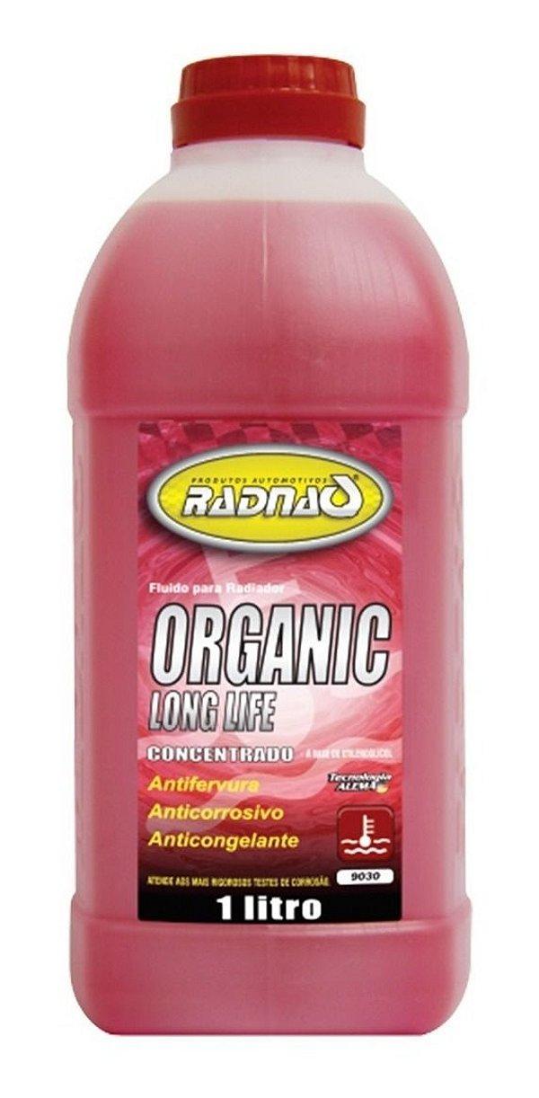 Fluído Radnaq Radiador Organic Long Life