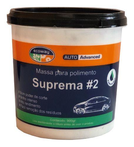 Massa Para Polimento Suprema #2 Auto-advanced - Ecoway